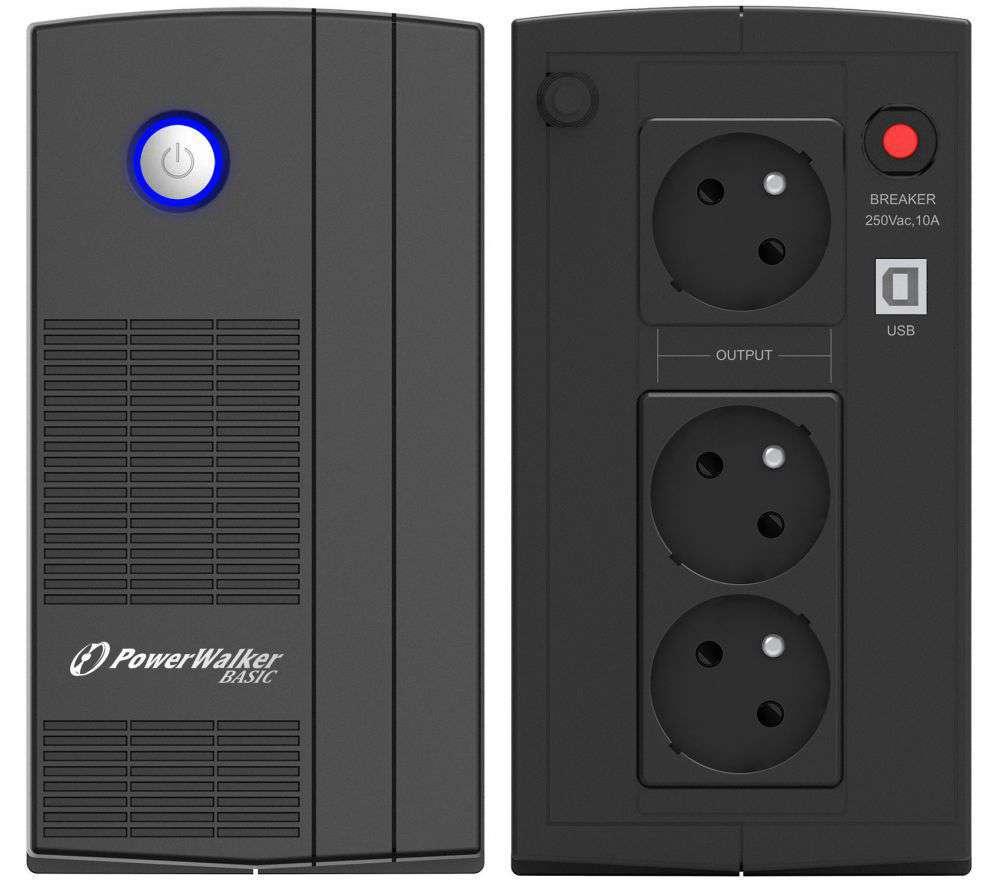 Zasilacz UPS awaryjny 1000VA/600W VI 1000 SB FR PowerWalker