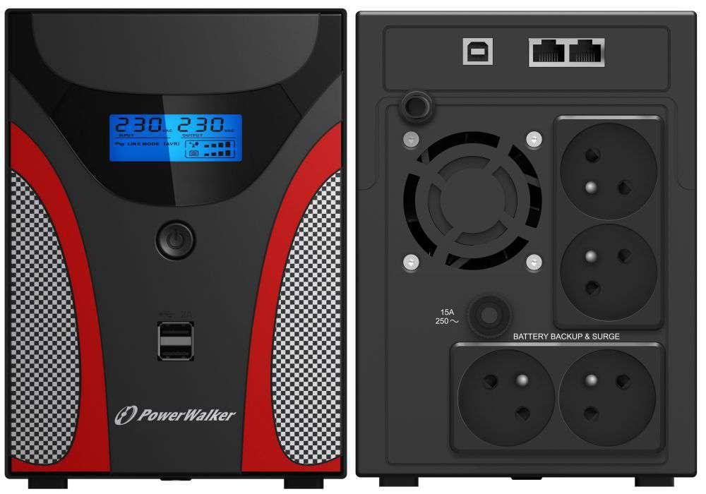 Zasilacz UPS awaryjny 2200VA/1200W VI 2200 GX FR PowerWalker