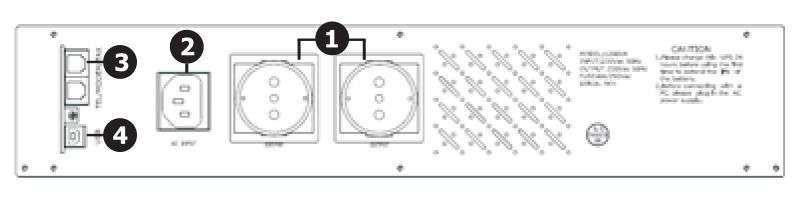UPS1200R EAST wyświetlacz lcd schemat