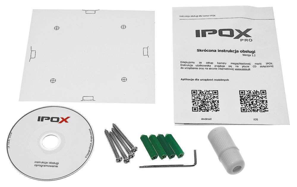 zawartość opakowania ipox pro px-dvi2002sl-p/w