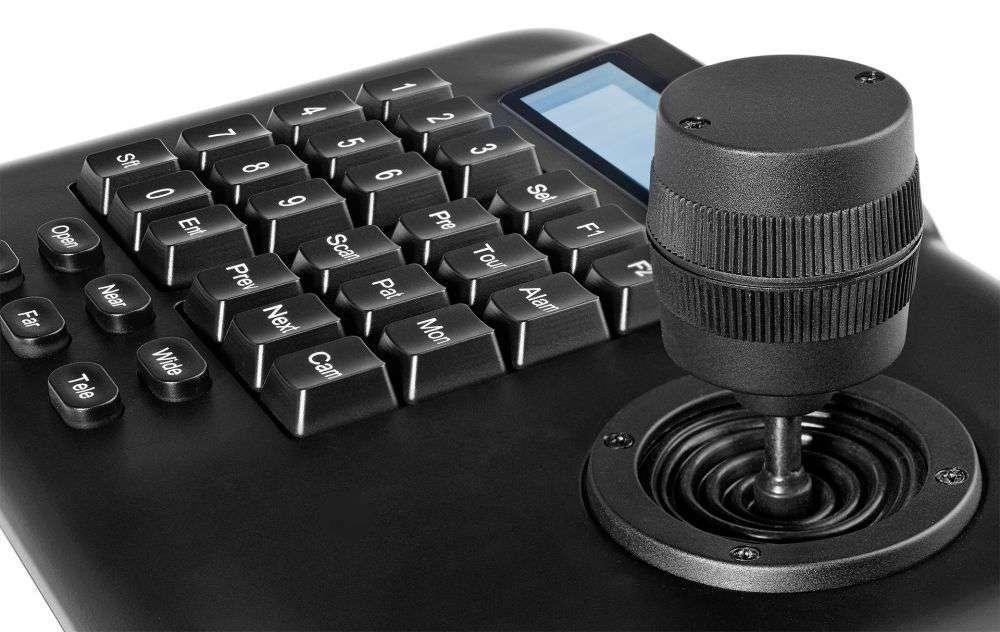 klawiatura sterująca joystick 3d ipox