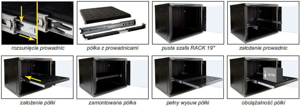 rapw450 pulsar przykład zastosowania półki