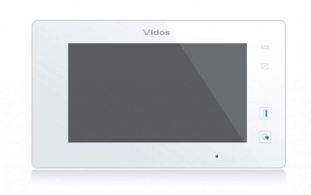 Monitor 7'' do wideodomofonu M1021W Vidos Duo biały