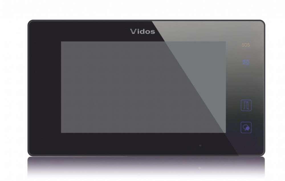 Monitor 7'' do wideodomofonu M1021B Vidos Duo czarny