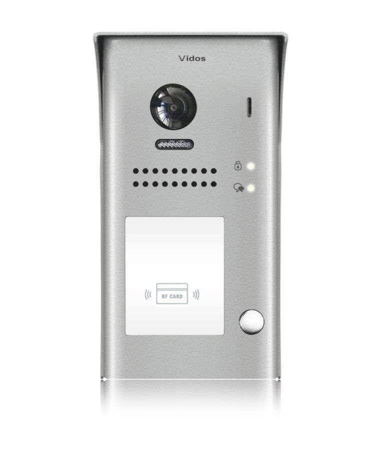 Stacja bramowa z czytnikiem kart S1101-A Vidos Duo