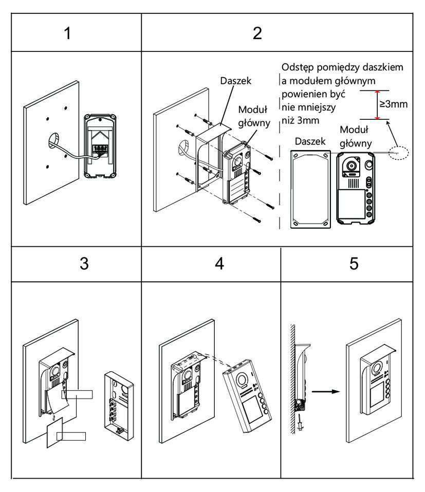 vidos duo s1102-a - instrukcja montażu