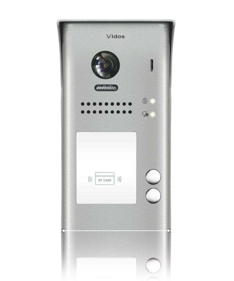 Stacja bramowa z czytnikiem kart S1102-A Vidos Duo