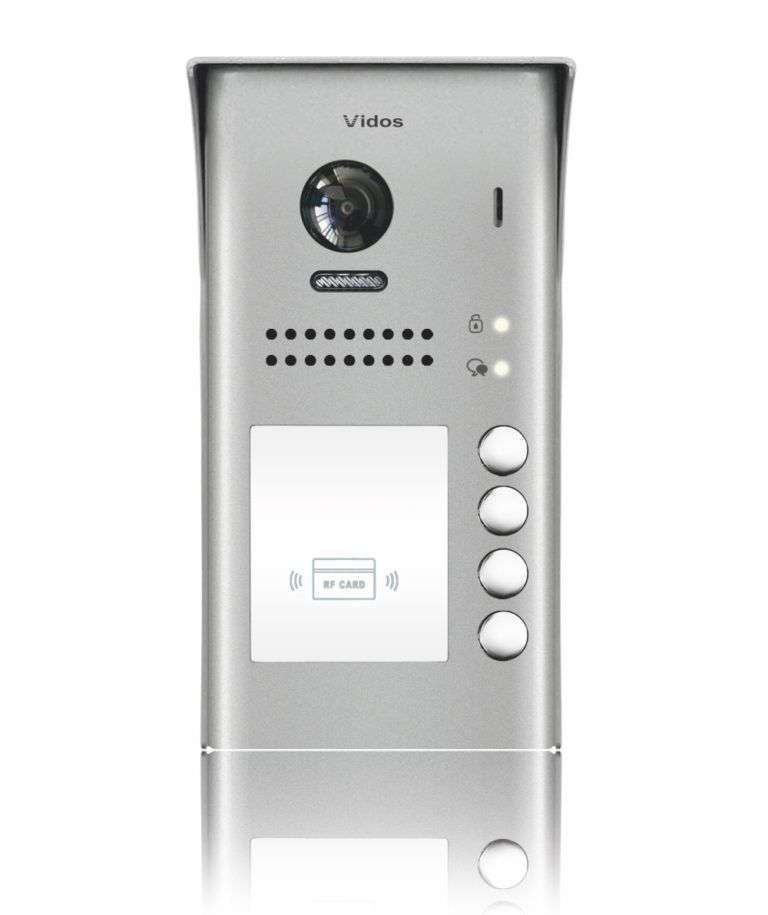 Stacja bramowa z czytnikiem kart S1104A Vidos Duo
