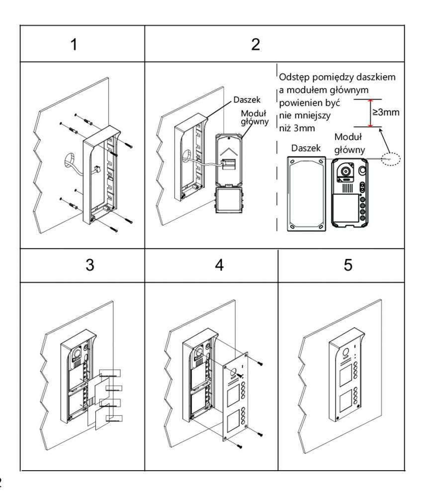 vidos duo s1108a - instrukcja montażu