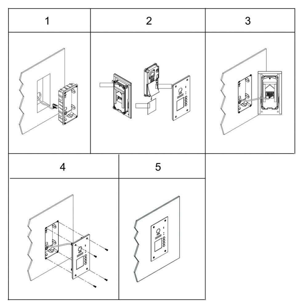 vidos duo s1204a - instrukcja montażu