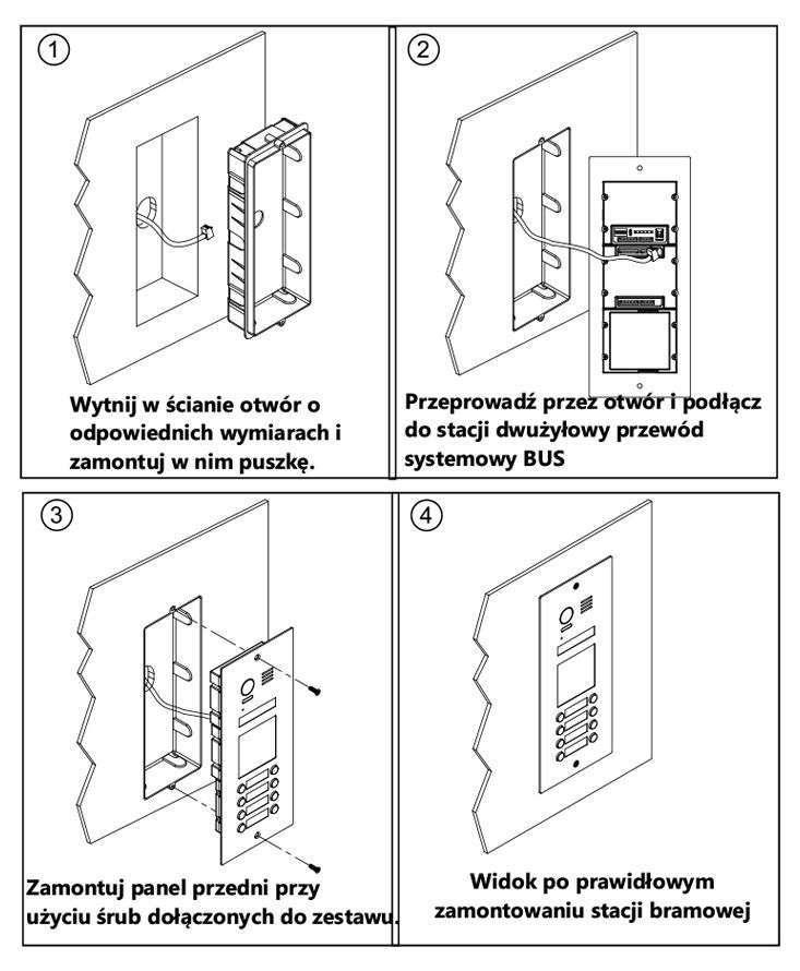 vidos duo s1508A - instrukcja montażu