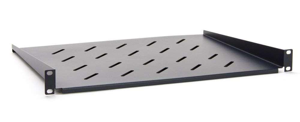 1U / 350mm - Uniwersalna półka STLCA-WS60-B Startlan czarna RAL9004