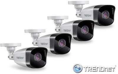 4x Kamera tubowa IP (1MPX) HD
