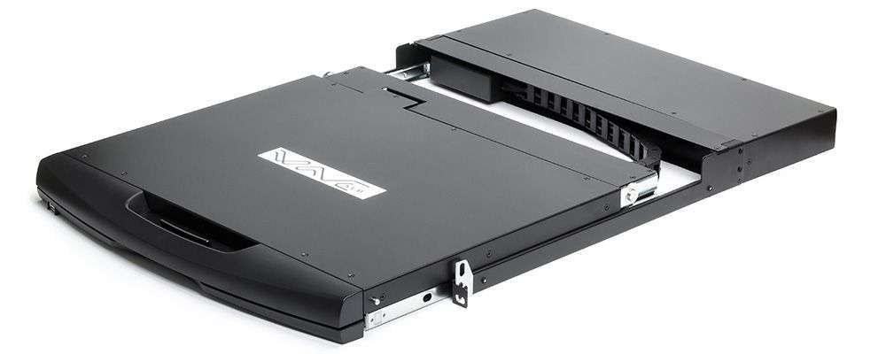 8 portowa konsola LCD 17'' RACK #07466 Wave KVM