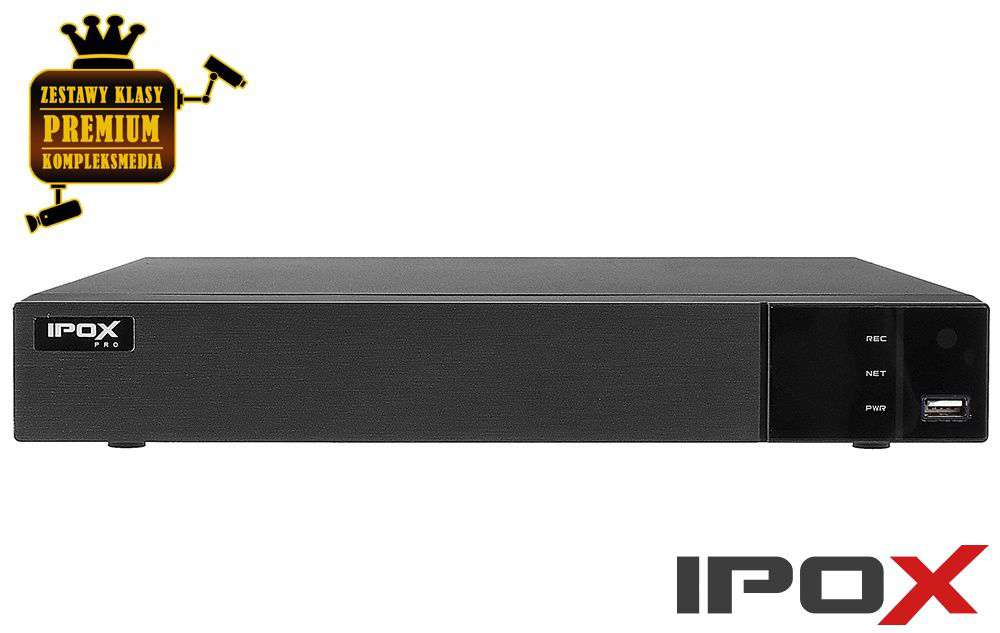 rejestrator do monitoringu ipox px-hdr0851h-8a