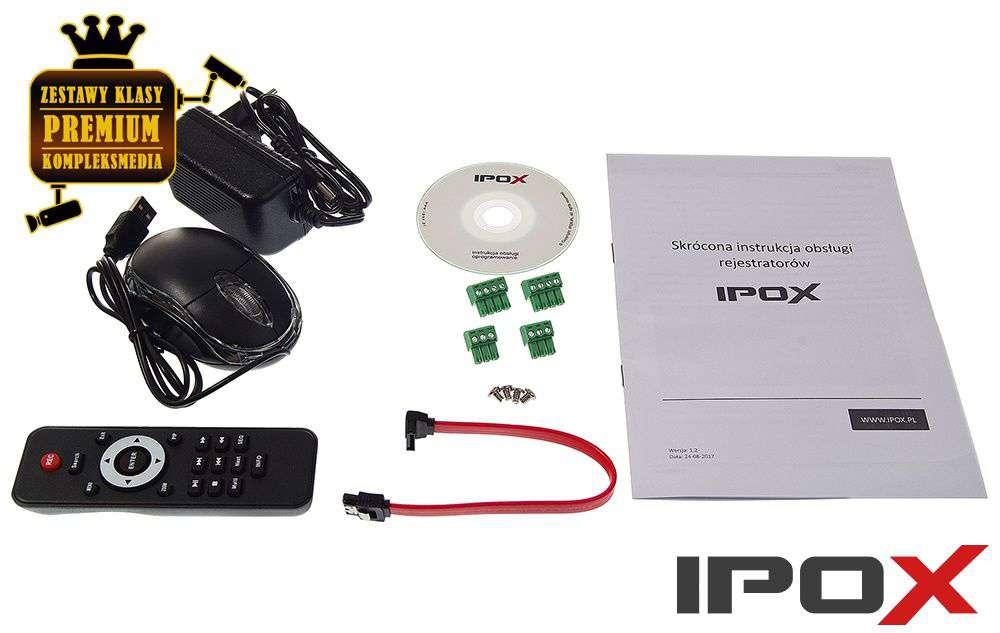 Zawartość opakowania PX-HDR0851h-8A IPOX