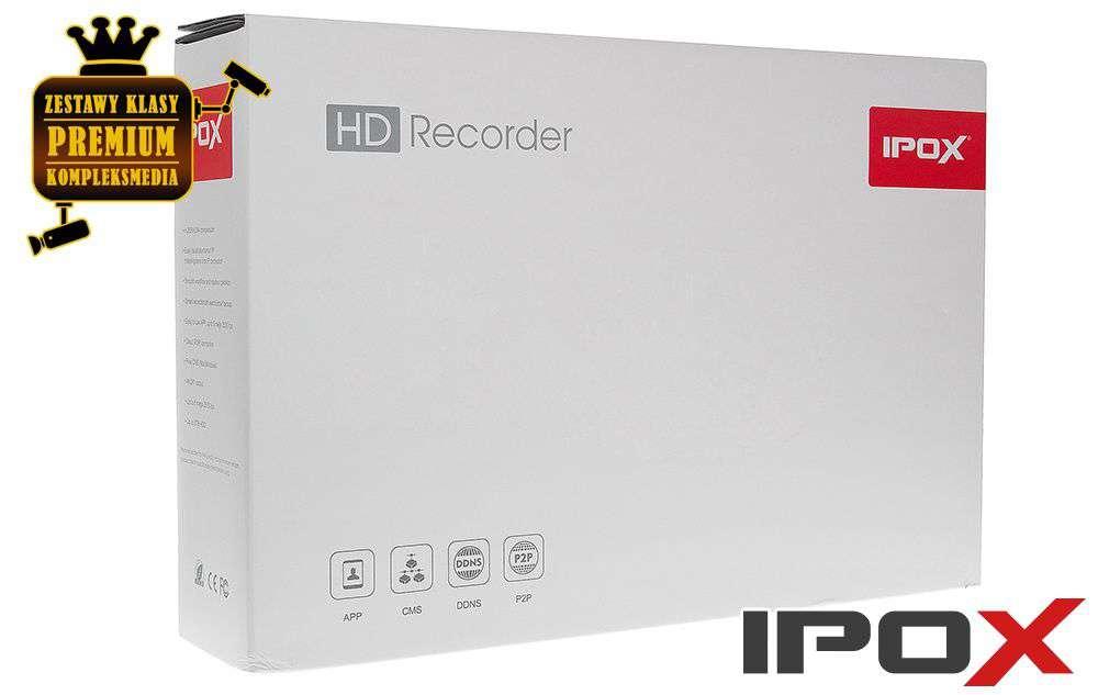 Zawartość opakowania PX-HDR0851H-8A IPOX 1x SATA