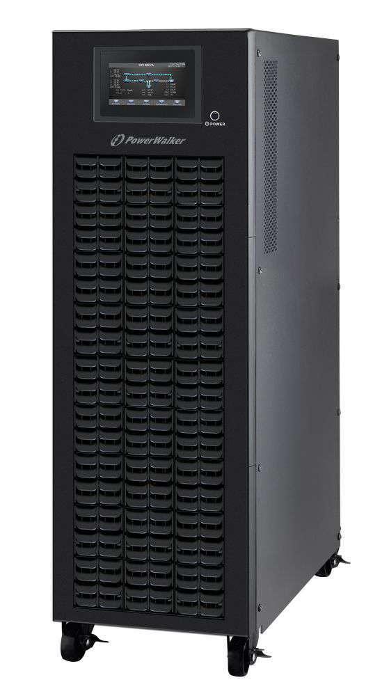 Zasilacz UPS 3-fazowy 10kVA/10kW VFI 10K CPG PF1 3/3 BX PowerWalker