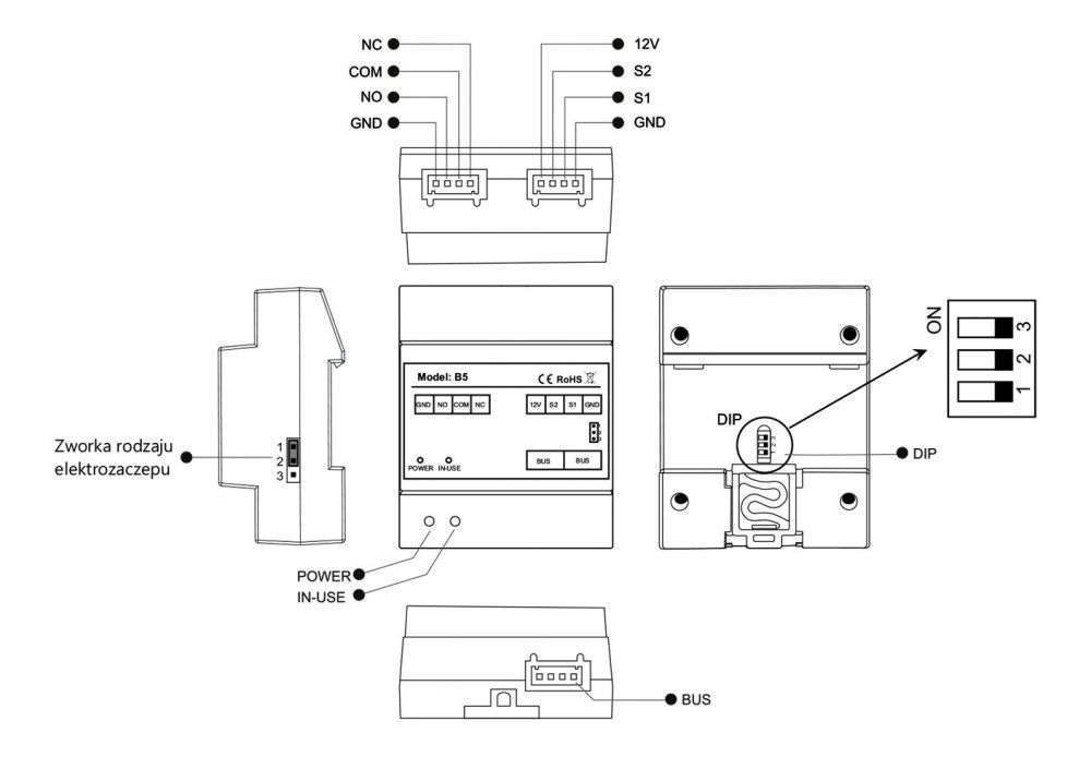 vidos duo B5 - charakterystyka modułu