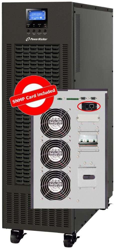 VFI CPG PF1 3/3 PowerWalker wbudowany moduł snmp