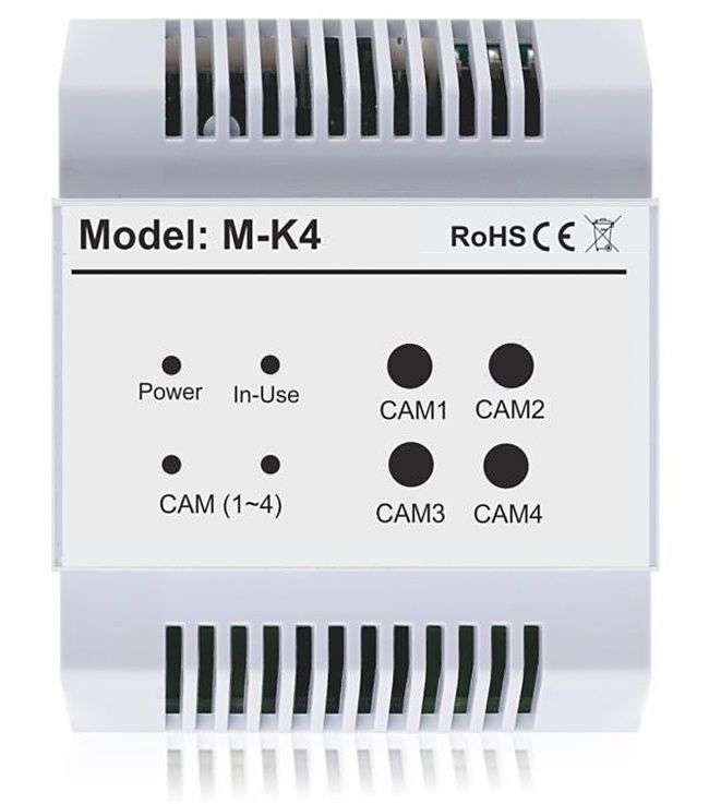 M-K4 - Sterujący moduł funkcyjny Vidos Duo do obsługi 4 kamer analogowych CCTV