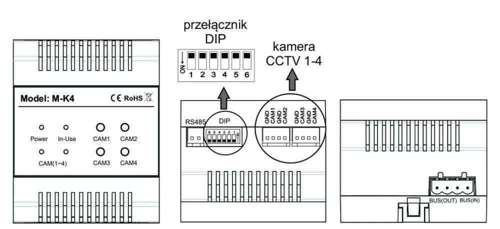 vidos duo M-K4 - charakterystyka modułu