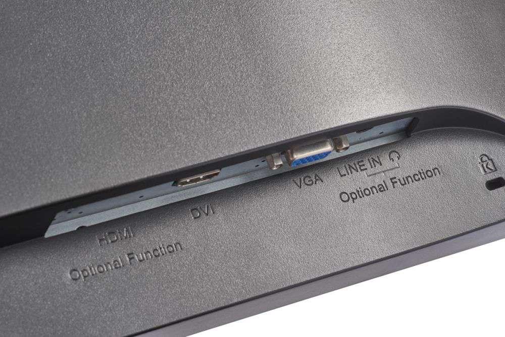 złącza monitora ds-d5024fc hikvision