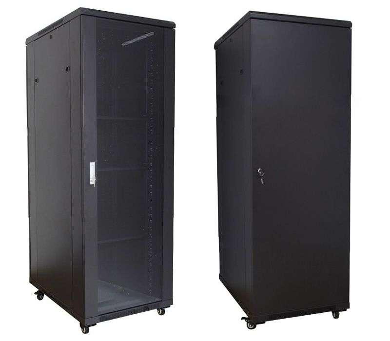 """Szafa Rack 19"""" 32U 600x1000 Base Link BL-SRS19326100SM-1C - stojąca"""