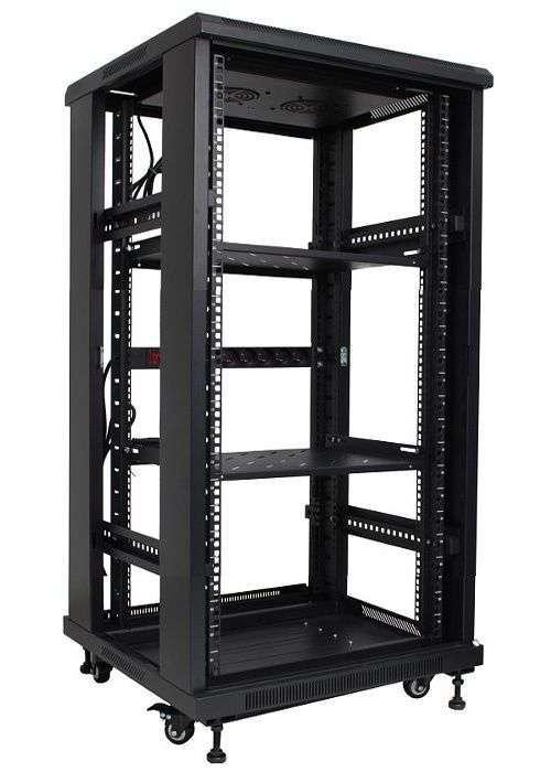bl-srs1922680pp-1c szafa 22u serwerowa 19 rack base link