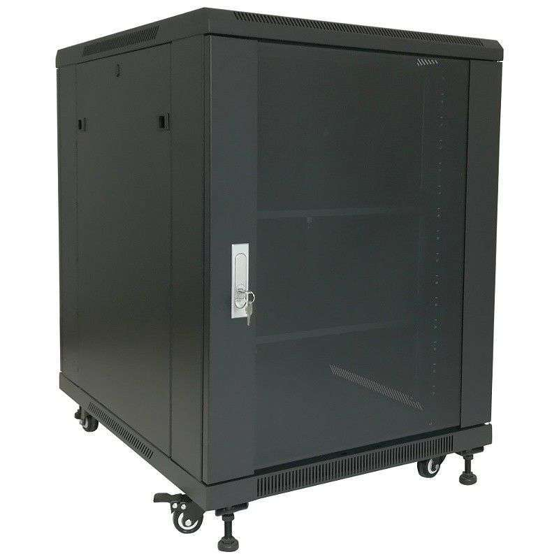 "Szafa Rack 19"" 15U 600x800 Base Link BL-SRS1915680SM-1C - serwerowa"