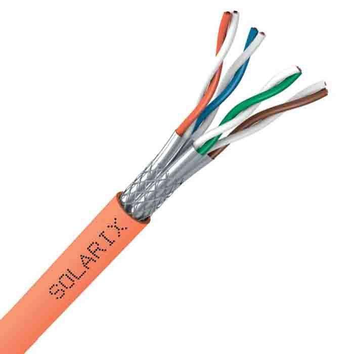 Kabel LAN skrętka SSTP CAT.7 SXKD-7-SSTP-LSOHFR-B2ca Solarix