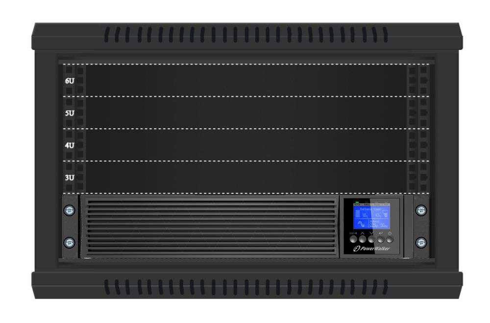 Zasilacz UPS rack 6kVA/6kW VFI 6000 RTGE PF1 PowerWalker