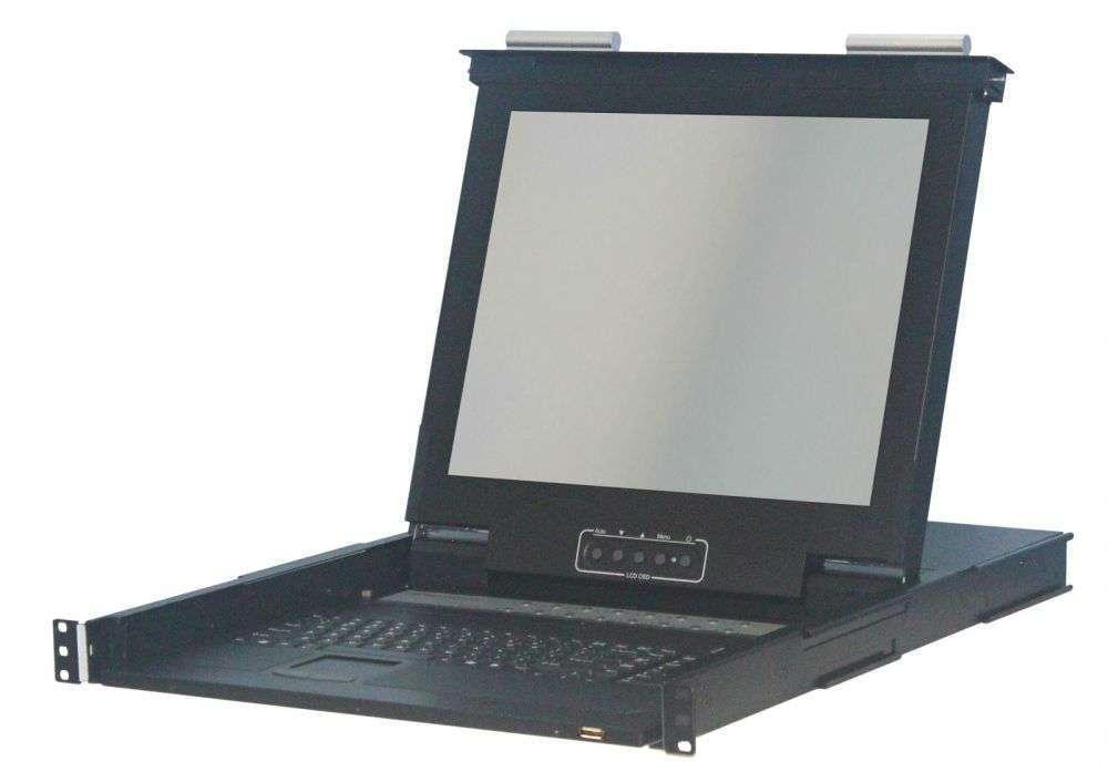 """8 portowa konsola KVM 17"""" LCD KVM-1708P-AST-M2 Annso"""