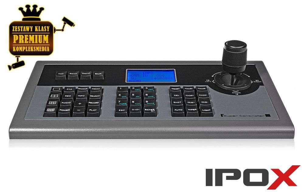 Klawiatura sterująca do kamer szybkoobrotowych PTZ PX-K01 IPOX
