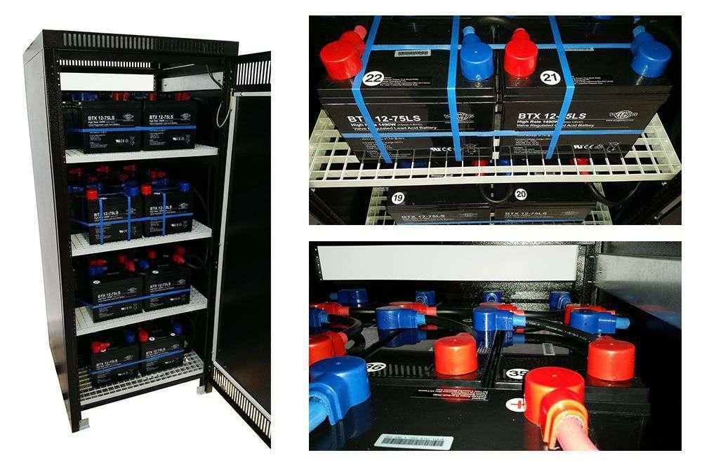 VFI CPG 3/3 PowerWalker baterie do UPS