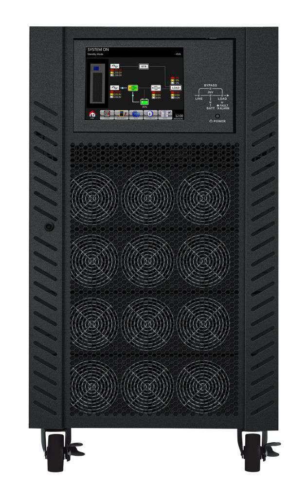 Zasilacz UPS 3-fazowy 120kVA/108kW VFI 120K CPG 3/3 BX PowerWalker