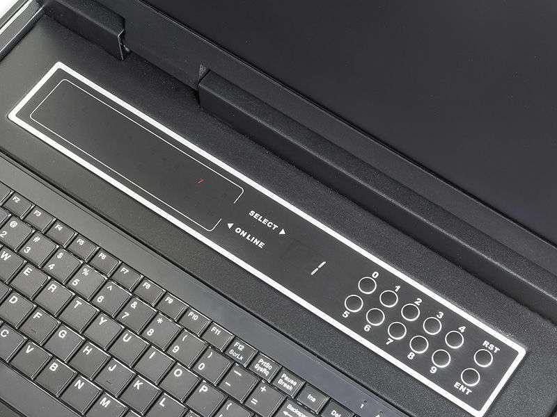 Konsola KVM ze zintegrowanym wyświetlaczem LCD
