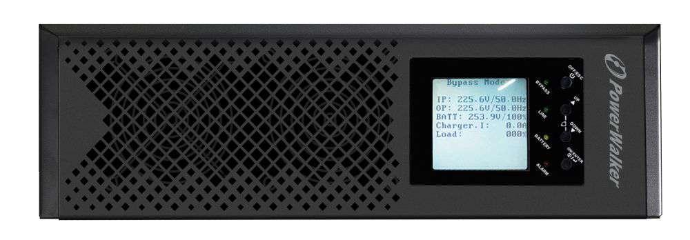 Zasilacz UPS 3-fazowy 10kVA/10kW VFI 10K CPH 3/3 PowerWalker