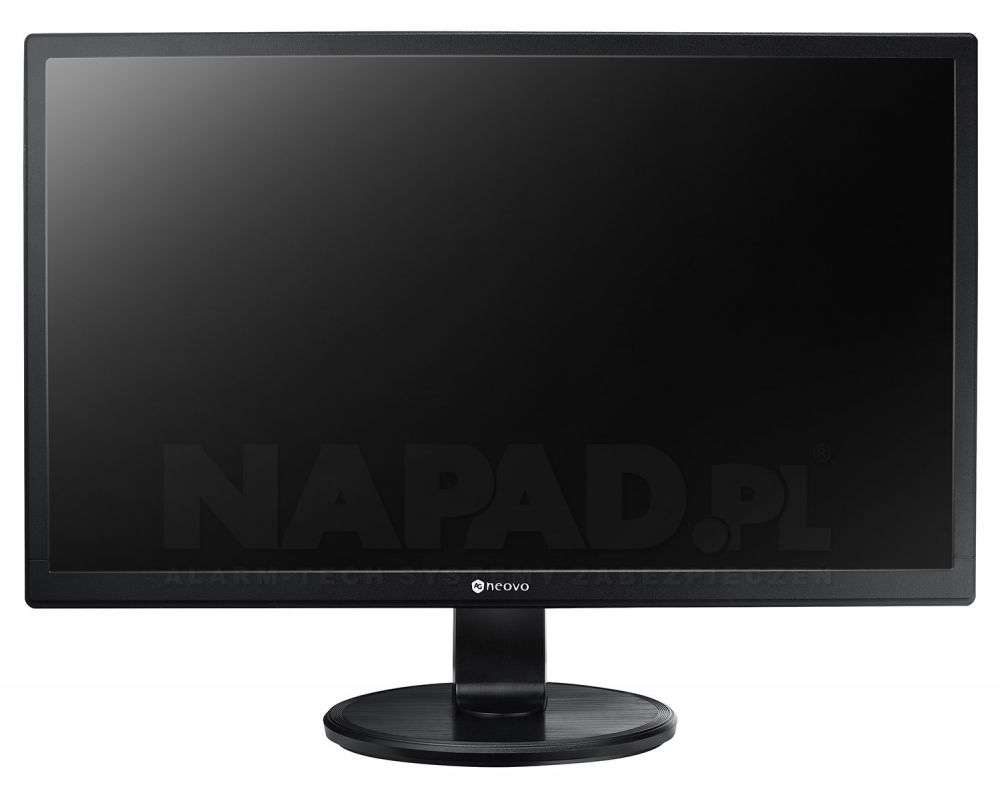 Monitor 22'' LED LCD do monitoringu 24/7 CCTV SC-22E AG Neovo