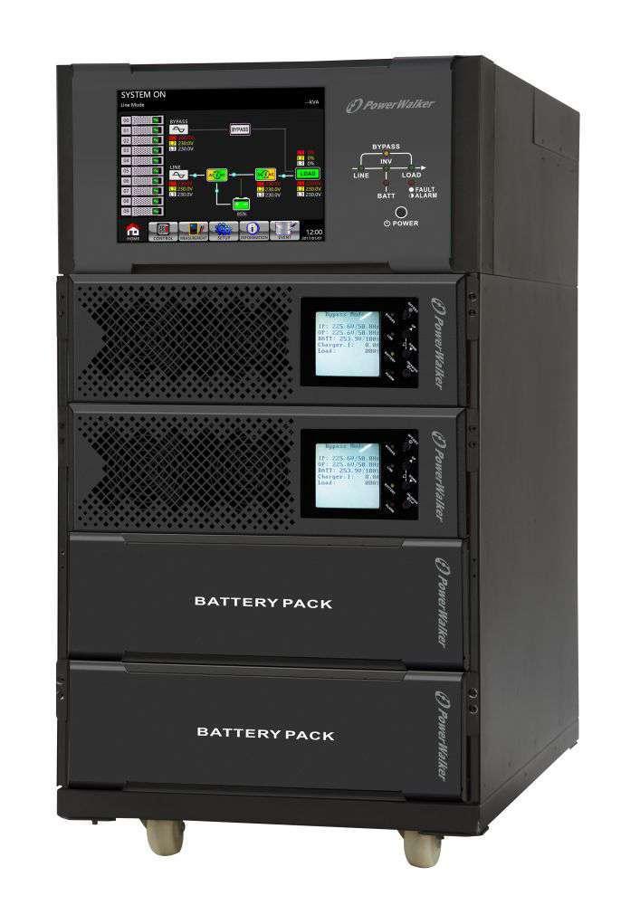 Battery Pack H384R-32x5Ah PowerWalker BP 10134043 montaż RACK