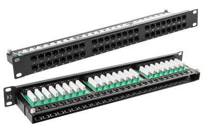 48 portowy patch panel UTP Cat.5e