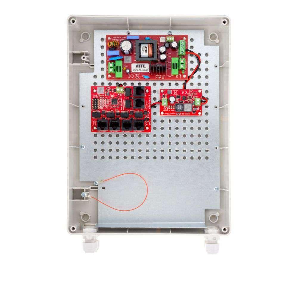 Przełącznik buforowy Fast Ethernet PoE Switch IPUPS-5-11-XL2 ATTE