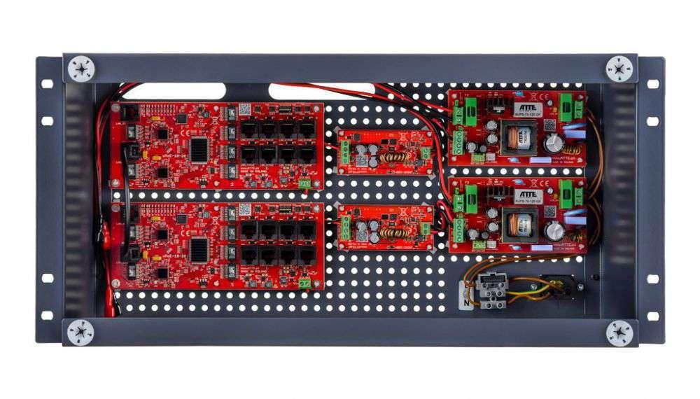 Przełącznik buforowy Fast Ethernet PoE Switch IPUPS-16-20-R5U0 ATTE