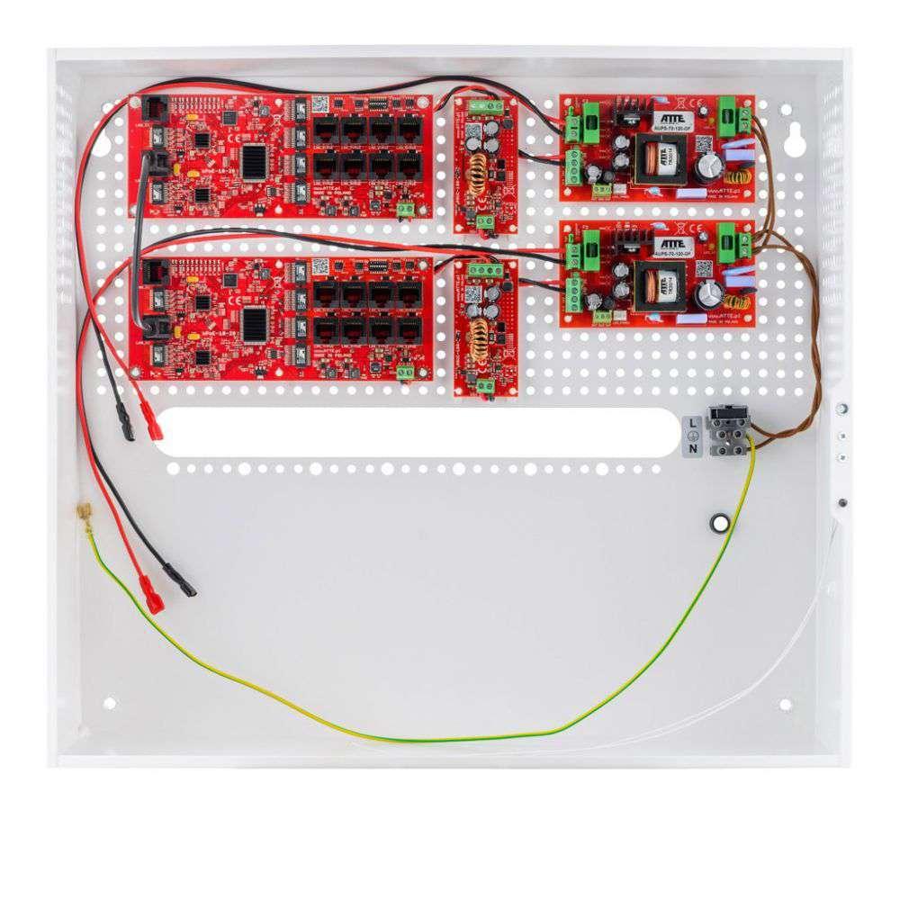 Przełącznik buforowy Fast Ethernet PoE Switch IPUPS-16-20-H ATTE
