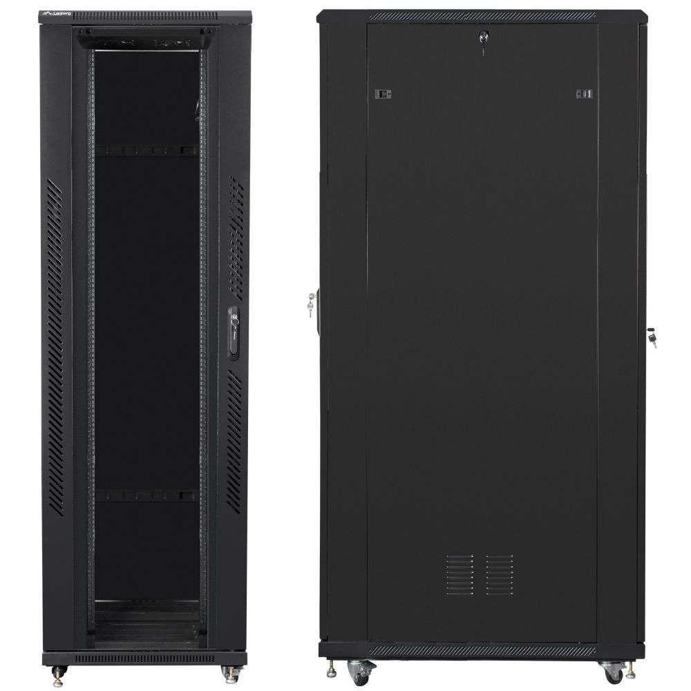 "Szafa Rack 19"" 42U 800x1200 Lanberg FF01-8242-12B serwerowa"