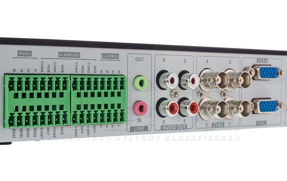 ☆ 4x HDMI (2x 4K UHD / 2x Full HD) ☆ 8MPX ☆ H.265 ☆ RS485 ☆ RS232 ☆ Audio ☆ Alarm ☆ 2x 1Gb/s LAN ☆ DVR ☆ NVR ☆ Linux ☆ ONVIF