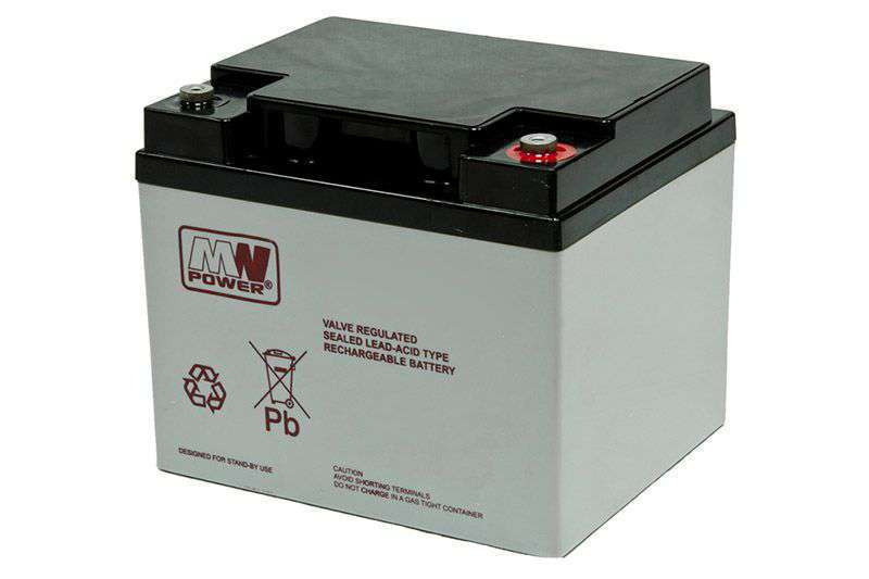 Akumulator AGM 12V/45Ah MWL 45-12 MW Power