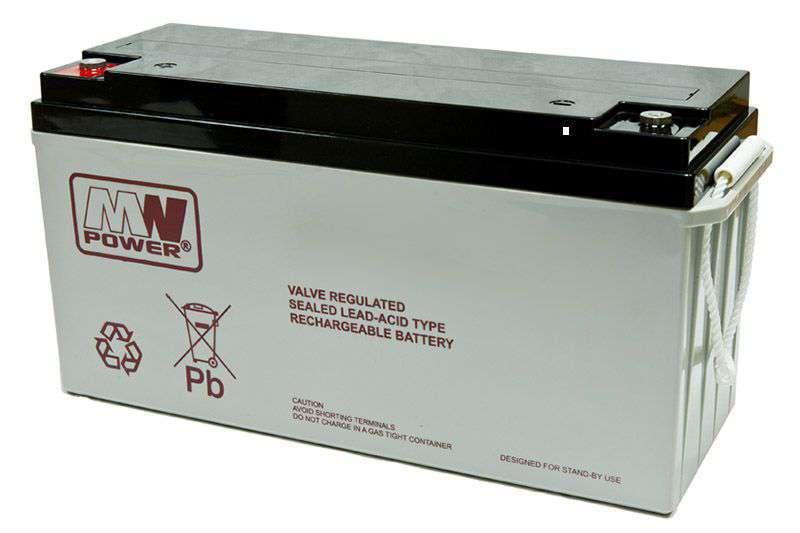 Akumulator AGM 12V/150Ah MWL 150-12 MW Power