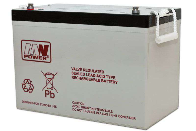 Akumulator AGM 12V/80Ah MWL 80-12h MW Power