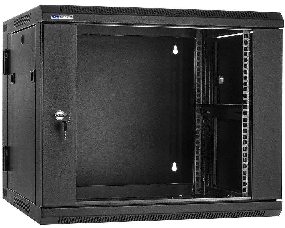 """Szafa Rack 19"""" 9U / 600 Rack Systems D6609 wisząca dwusekcyjna"""